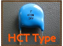 HCT型中高壓陶瓷電容器